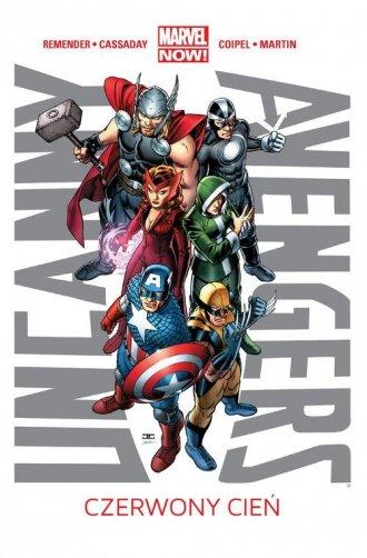 Uncanny Avengers. Tom 1. Czerwony - okładka książki