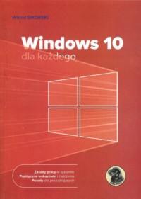 Windows 10 dla każdego - okładka książki