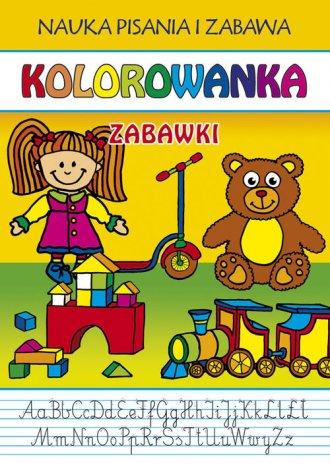 Zabawki. Kolorowanka - okładka książki