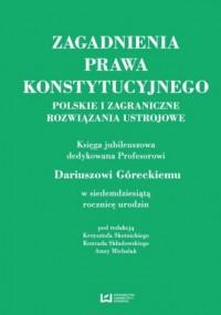 Zagadnienia prawa konstytucyjnego. - okładka książki