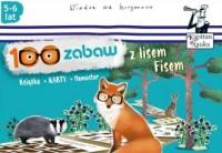 100 zabaw z lisem Fisem (5-6 lat) - okładka książki