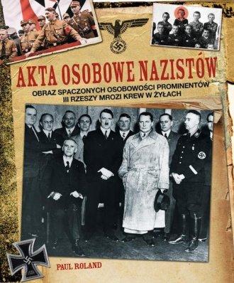 Akta osobowe nazistów - okładka książki