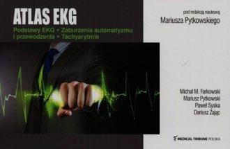 Atlas EKG. Podstawy EKG. Zaburzenia - okładka książki