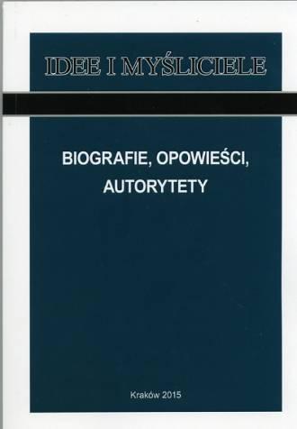 Biografie, opowieści, autorytety. - okładka książki