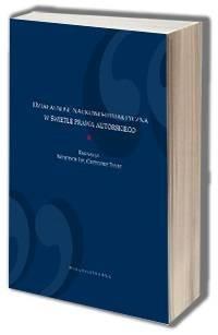 Działalność naukowo-dydaktyczna w świetle prawa autorskiego - okładka książki