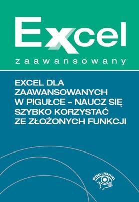 Excel dla zaawansowanych w pigułce. - okładka książki