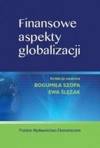 Finansowe aspekty globalizacji - okładka książki