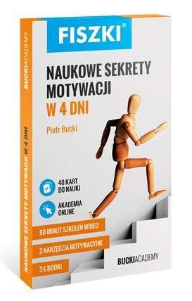Fiszki. Naukowe sekrety motywacji - okładka książki