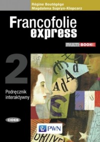 Francofolie express 2. Multibook - okładka książki