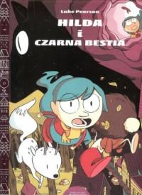 Hilda i czarna bestia - okładka książki