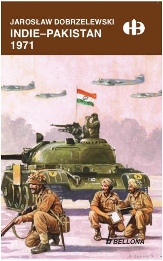 Indie - Pakistan 1971 - okładka książki