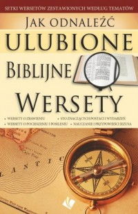 Jak odnaleźć ulubione biblijne wersety - okładka książki