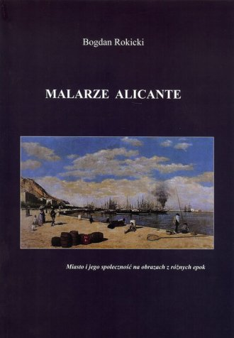 Malarze Alicante - okładka książki