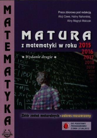 Matura z matematyki w roku 2015. - okładka podręcznika