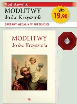 Modlitwy do św. Krzysztofa. Modlitewnik - okładka książki