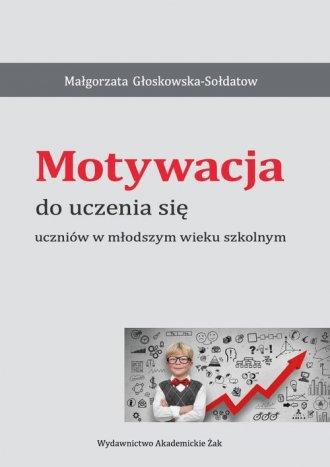 Motywacja do uczenia się uczniów - okładka książki
