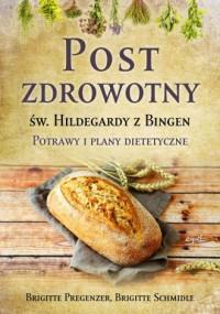 Post zdrowotny św. Hildegardy z Bingen - okładka książki