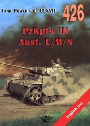 PzKpfw III Ausf. L M N. Tank Power - okładka książki