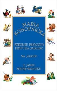 Szkolne przygody Pimpusia Sadełko. - okładka książki