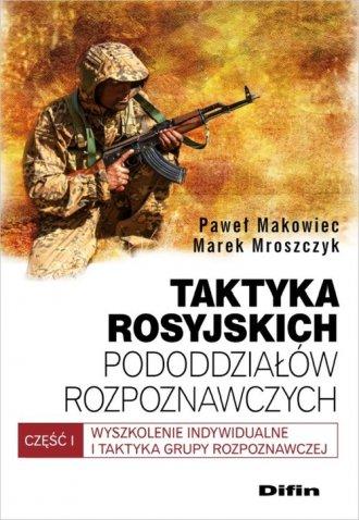 Taktyka rosyjskich pododdziałów - okładka książki