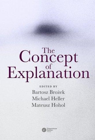 The Concept of Explanation - okładka książki