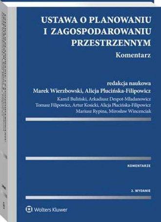 Ustawa o planowaniu i zagospodarowaniu - okładka książki
