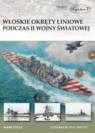 Włoskie okręty liniowe podczas - okładka książki