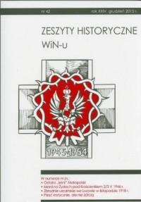 Zeszyty Historyczne WiN-u nr 42 (grudzień 2015) - okładka książki