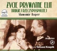 Życie prywatne elit Drugiej Rzeczypospolitej - pudełko audiobooku