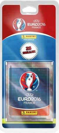 Blister 5 1. Naklejki UEFA Euro 2016 - zdjęcie zabawki, gry
