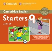 Cambridge English. Young Learners 9 Starters (CD) - pudełko programu