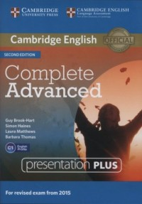 Complete Advanced Presentation Plus (DVD) - pudełko programu