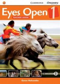 Eyes Open 1. Teachers Book - okładka podręcznika