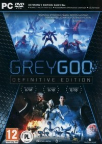Grey Goo. Definitive Edition - pudełko programu