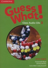 Guess What! 3 Class Audio (2 CD). British English - pudełko programu