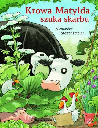 Krowa Matylda szuka skarbu - okładka książki