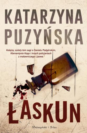 Łaskun - okładka książki