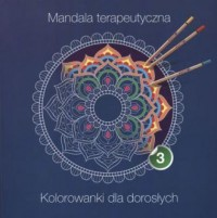 Mandala terapeutyczna cz. 3 - okładka książki