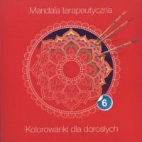 Mandala terapeutyczna cz. 6 - okładka książki