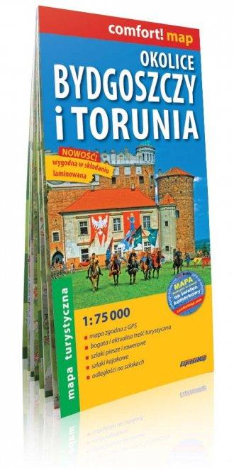 Okolice Bydgoszczy i Torunia comfort! - okładka książki