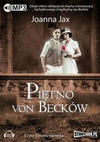 Piętno von Becków - Joanna Jax - pudełko audiobooku