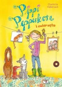 Pippi Pepperkorn i zwierzęta - okładka książki