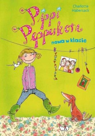 Pippi Pepperkorn. Nowa w klasie - okładka książki