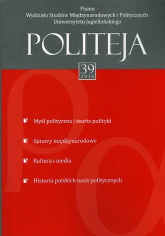Politeja nr 39/2015 - okładka książki