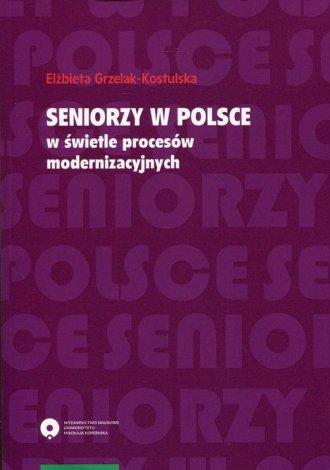 Seniorzy w Polsce w świetle procesów - okładka książki