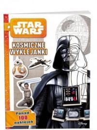 Star Wars. Kosmiczne wyklejanki - okładka książki