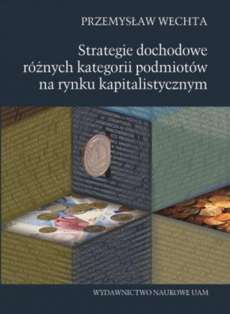 Strategie dochodowe różnych kategorii - okładka książki