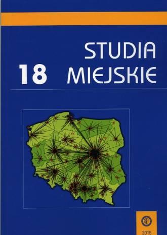 Studia Miejskie. Tom 18 - okładka książki