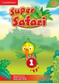 Super Safari 1. Presentation Plus DVD - pudełko programu