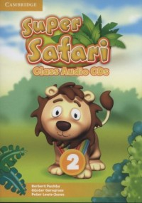 Super Safari 2. Class Audio (2 CD) - pudełko programu